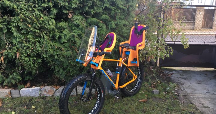 Thule Ridealong Mini On A Fatbike One Dad S Tail The
