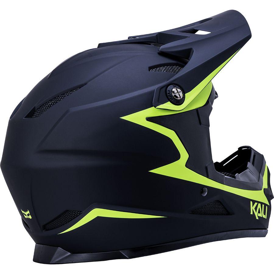 Bike Helmet SFBBBO Kids Cycling Helmet Full Face Detachable Children Helmet MTB Downhill Bike Helmet Safety Bicycle Blue-Green
